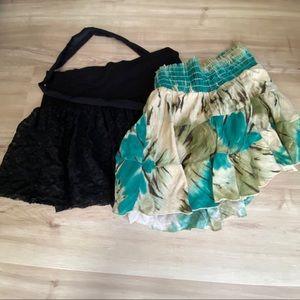 Set of 2 Guess mini skirts